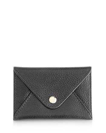 royce new york leather envelope card case bloomingdale s royce