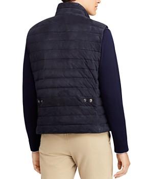 Polo Ralph Lauren - Walbrook Quilted Suede Vest