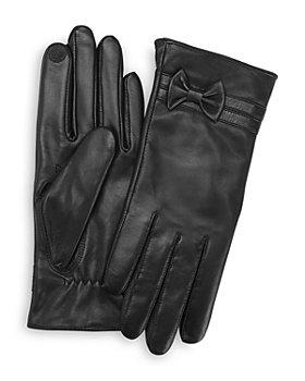 ROYCE New York - Lambskin Leather Tech Gloves