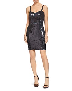 Dress the Population - Lindsay Sequin Sheath Dress