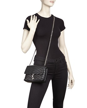 Rebecca Minkoff - Edie Quilted Leather Convertible Crossbody