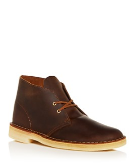 Clarks - Men's Leather Chukka Boots