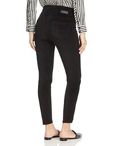 JAG Jeans - Marla Velvet Legging Jeans in Black