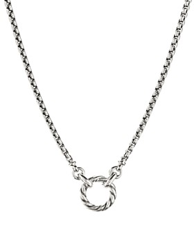 David Yurman - Amulet Vehicle Box Chain Necklace