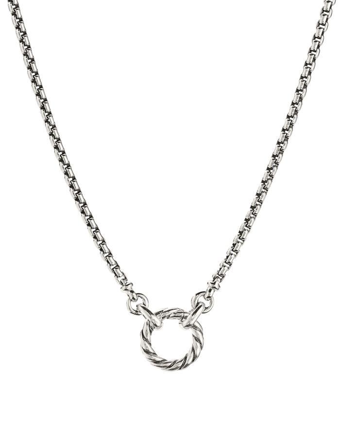 David Yurman Amulet Vehicle Box Chain Necklace    Bloomingdale's