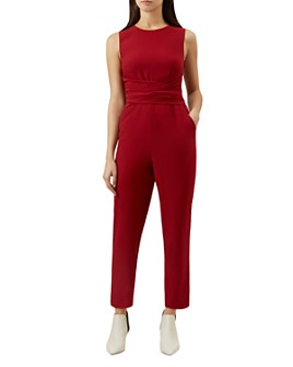 HOBBS LONDON - Twitchill Tie-Waist Jumpsuit