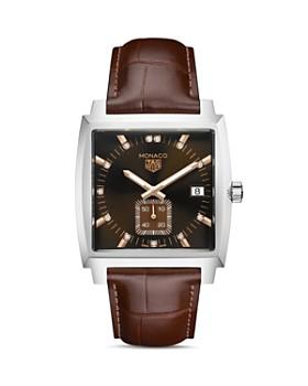 TAG Heuer - Monaco Diamond Watch, 37mm x 36mm