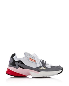 Adidas - Women's Falcon Color-Block Low-Top Dad Sneakers