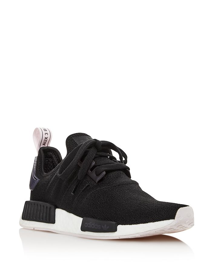 Adidas - Women s NMD R1 Knit Lace Up Sneakers 0afe6e64e