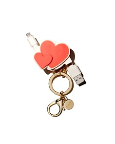 ban.do - Heart to Heart Retractable Charging Cord