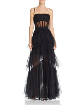 Bcbgmaxazria Eve Tulle Corset Gown