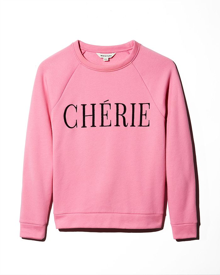Whistles - Chérie Embroidered Sweatshirt