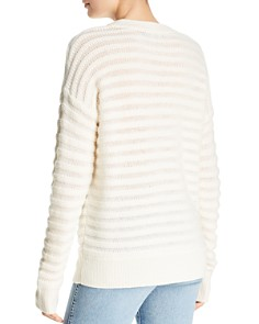 Theory - Cashmere Knit-Stripe Sweater