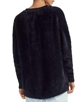 Maje - Mouthi Faux-Fur Sweater