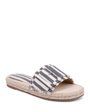 Splendid Women's Simpson Buckled Espadrille Slide Sandals