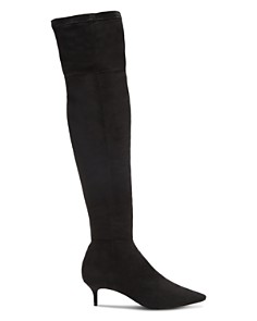 SCHUTZ - Women's Helga Kitten Heel Over-the-Knee Boots