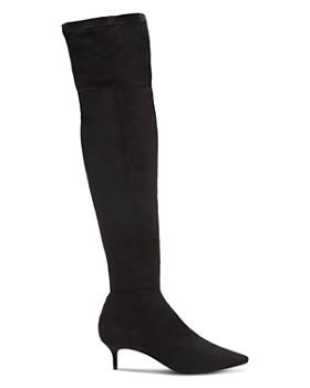 SCHUTZ - Women's Helga Kitten Heel Over-the-Knee Boots