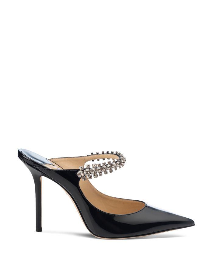 Jimmy Choo Women's Bing 100 Embellished High-Heel Mules  | Bloomingdale's