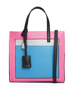 MARC JACOBS - Mini Grind Leather Shoulder Bag