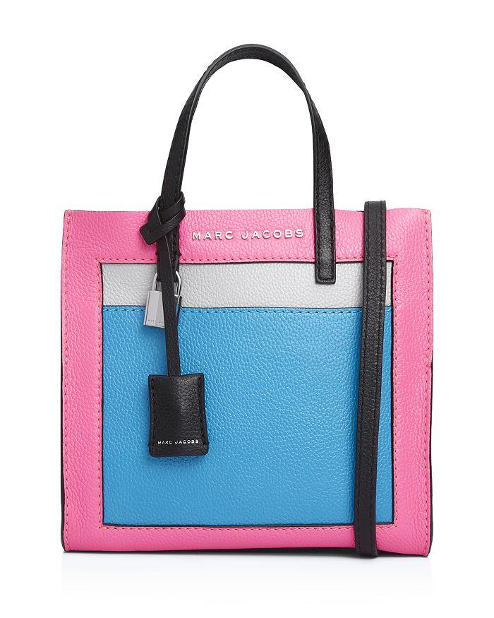 79896ac1bd740 MARC JACOBS - Mini Grind Leather Shoulder Bag