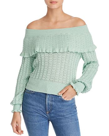 Free People - Crazy In Love Off-the-Shoulder Sweater
