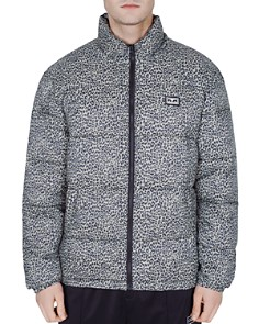 OBEY - Bouncer Leopard-Print Puffer Jacket