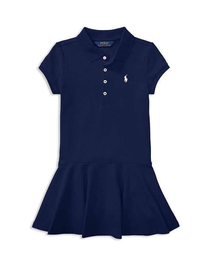 9dac0c286daf9 Ralph Lauren - Girls  Mesh Polo Shirt Dress - Little Kid