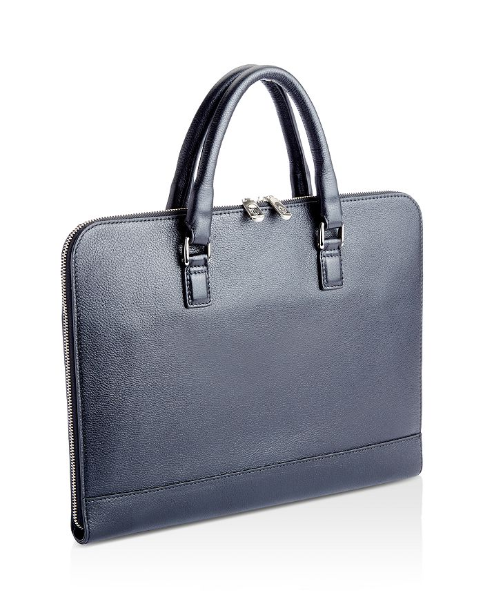 ROYCE New York - Slim Leather Briefcase