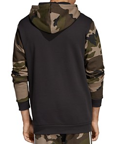 adidas Originals - Camouflage Color-Block Hooded Sweatshirt
