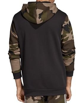 adidas Originals - Camouflage Color-Block Hooded Sweatshirt