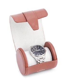 ROYCE New York - Leather Travel Single Watch Roll