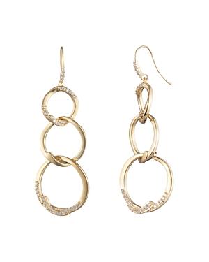 Carolee Triple Link Linear Earrings