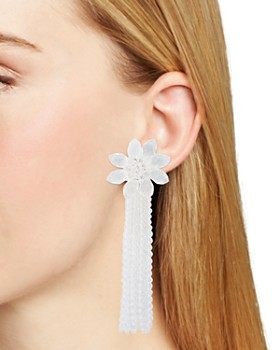 kate spade new york - Tassel Statement Earrings