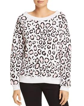 WILDFOX - Sommers Leopard Print Sweatshirt - 100% Exclusive