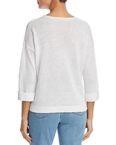 Eileen Fisher Petites - Organic Linen Sweater