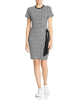 baa5e17590b Parker - Hermosa Short-Sleeve Striped Dress ...