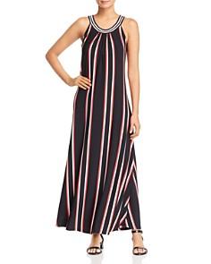 Calvin Klein - Striped Maxi Dress