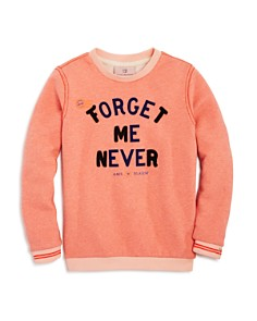 Scotch R'Belle - Girls' Crewneck Forget Me Never Sweatshirt - Little Kid, Big Kid
