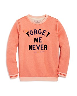 Scotch R'Belle - Girls' Crewneck Forget Me Never Sweatshirt - Little Kid, Big Kid