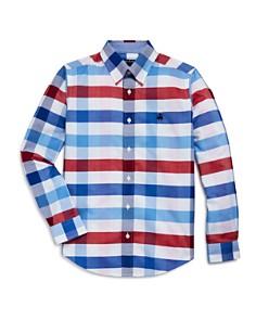 Brooks Brothers - Golden Fleece® Boys' Plaid Oxford Sport Shirt - Big Kid