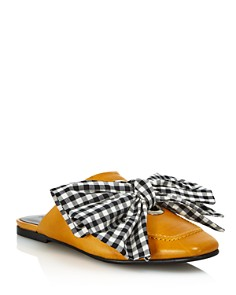 Freda Salvador - Women's Removable-Tie Flat Mules