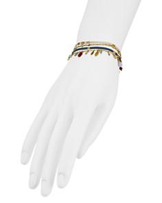 Chan Luu - Dangle Bracelet in 18K Gold-Plated Sterling Silver