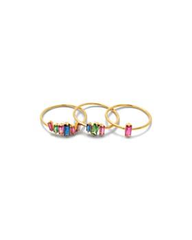 Gorjana - Amara Stackable Rings, Set of 3