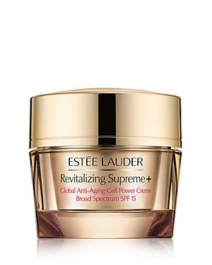 Estee Lauder Revitalizing Supreme+ Global Anti-Aging Cell Power Creme Spf 15 2.5 oz.