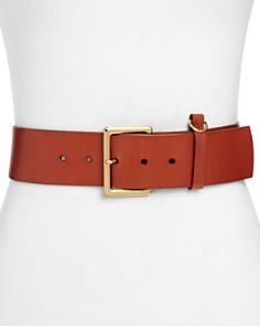 FRAME - D-Ring Leather Belt