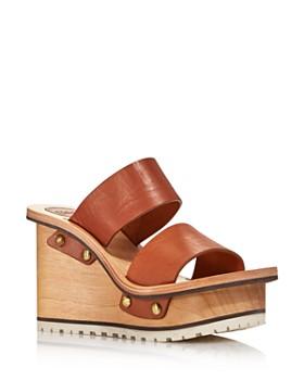 d00582f719f Chloé - Women s Valentine Platform Wedge Sandals ...