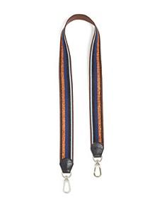 Longchamp - Striped Shoulder Strap