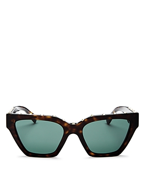 Valentino Women\\\'s Rockstud Cat Eye Sunglasses, 53mm-Jewelry & Accessories