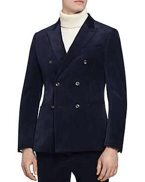 Reiss Lincoln B Slim Fit Double-Breasted Blazer