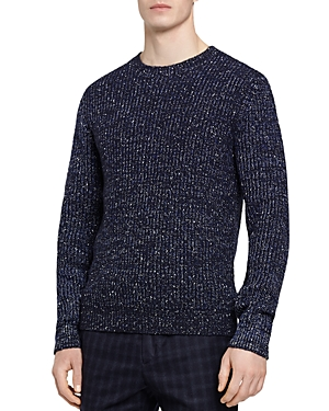 Reiss Pierre Flecked Crewneck Sweater